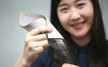 LG Innotek tiết lộ cảm biến dệt mềm dẻo đo áp lực